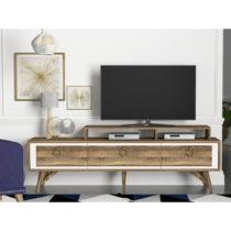 TV komoda v dekore orechového dreva Rosso