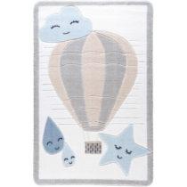 Detský koberec Confetti Cloudy, 100×150 cm