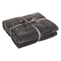 Tmavosivá deka z mikrovlákna DecoKing Henry, 240×220&...