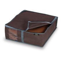 Hnedý úložný box na bielizeň Domopak Living, 15&#...
