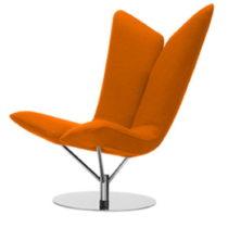 Oranžové kreslo Softline Angel Valencia Orange