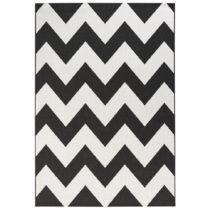 Čierno-biely koberec vhodný aj do exteriéru Unique, 160&#x...