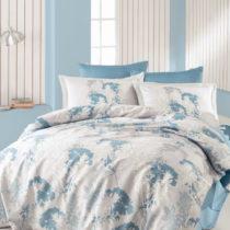 Set posteľnej bielizne z bavlneného saténu pre pár Adkins