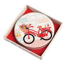 Vreckové zrkadielko Rex London Le Vélo, 7cm