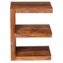 Odkladací stolík z masívneho palisandrového dreva Skyport Raquel