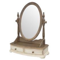 Stolové zrkadlo z dreva kaučukovníka Livin Hill Limena