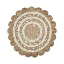 Jutový okrúhly koberec Eco Rugs Cristina, Ø 120 cm