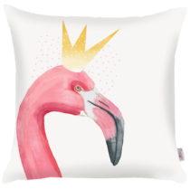 Obliečka na vankúš Apolena Flamingo King, 43×&#x...