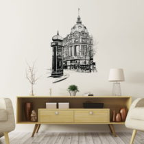 Nástenná samolepka Ambiance Wall Decal Paris the Racecourse, 55 &#xD7...
