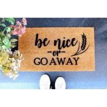 Rohožka Doormat Be Nice, 70×40 cm