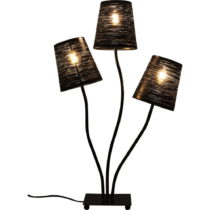 Čierna stolová lampa Kare Design Black Tree