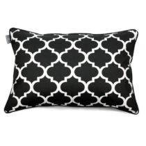 Čierno-biela obliečka na vankúš WeLoveBeds Clover, 40 &#x...