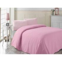 Ružová ľahká prikrývka cez posteľ Pembe, 20...