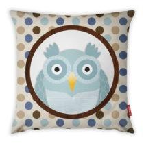 Obliečka na vankúš Vitaus Azul Owl, 43×43 ...