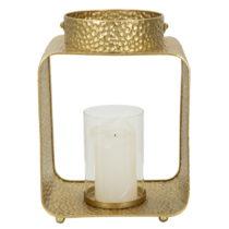 Svietnik v zlatej farbe Mauro Ferretti Robusto