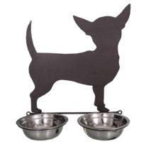 Dvojitá miska pre psov Antic Line Chiwawa