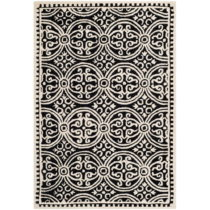 Vlnený koberec Safavieh Marina Night, 91×152 cm