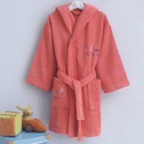 Detský župan zo 100% bavlny Bonbons, 3-4 roky