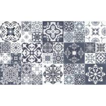 Sada 60 dekoratívnych samolepiek na stenu Ambiance Tanoura Simple, 10×&a...