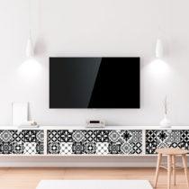 Sada 60 samolepiek na nábytok Ambiance Tiles Stickers For Furniture Maria, 20&...