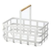 Biely úložný košík YAMAZAKI Tosca