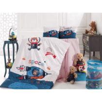 Set detskej bavlnenej obliečky Into Space, 100 x 150 cm