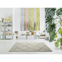 Biely koberec Universal Kasbah White, 80 × 150 cm