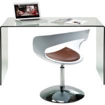 Sklenený pracovný stôl Kare Design Club