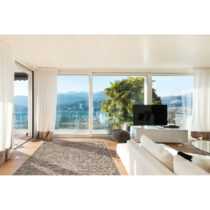 Vysokoodolný koberec vhodný do exteriéru Floorita Ornament Natural,&#...