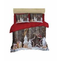 Sada obliečky a plachty na dvojposteľ Christmas Wood, 200×&am...