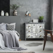 Sada 60 samolepiek na nábytok Ambiance Tiles Stickers For Furniture Floentina, 20...