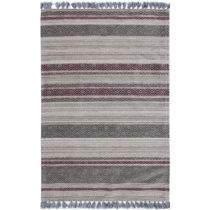 Koberec Eco Rugs Lila Stripes, 80×150 cm