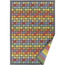 Farebný vzorovaný obojstranný koberec Narma Pallika, 160&#x...