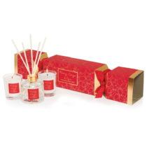 Darčeková sada sviečok a difuzéra s vôňou m...