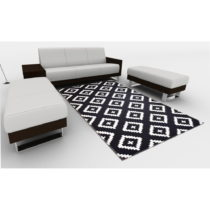 Odolný koberec Vitaus Winston, 50×80cm