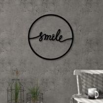 Nástenná kovová dekorácia Smile