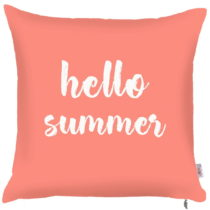 Obliečka na vankúš Apolena Coral Hello Summer, 43×&a...