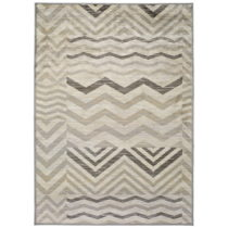 Sivý koberec Universal Belga Aztec, 100×140 cm