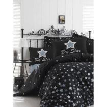 Obliečky na jednolôžko Back White Star, 160×&#xA...