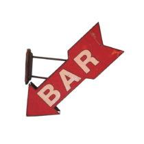 Nástenná dekorácia Antic Line Fleche Bar