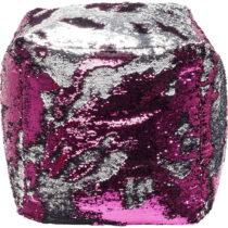 Ružový puf Kare Design Queen