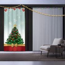 Vianočný záves This is Christmas, 140 x 260 cm