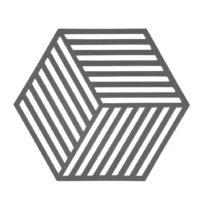 Podložka pod horúce Hexagon, sivá