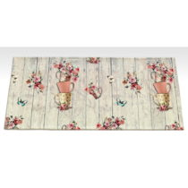 Vysokoodolný kuchynský koberec Webtappeti French Garden, 60×&am...