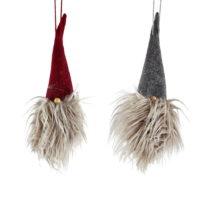 Sada 2 vianočných závesných dekoratívnych dekor&#x...