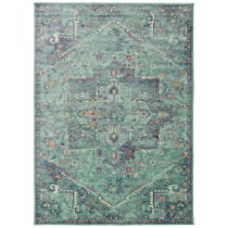 Tyrkysový koberec Universal Lara Aqua, 140 × 200 cm