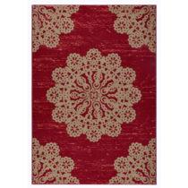 Červený koberec Hanse Home Gloria Lace, 200 x 290 cm