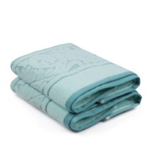 Sada 2 mentolovozelených bavlnených ručníku Sultan, 50 &#xD...