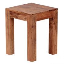 Odkladací stolík z masívneho akáciového dreva Skyport T...