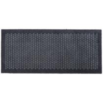 Sivá rohožka Tica copenhagen Dot, 67×150 cm